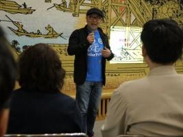 南相馬ダイアログin東京、開会の代表あいさつ