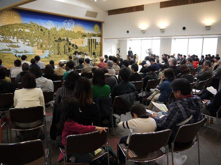 南相馬ダイアログin東京、ゲストおふたりのピアノと朗読