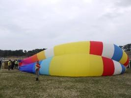 気球の仕組みをお勉強、気球教室