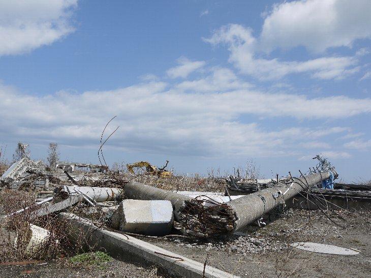 2013年4月、震災から2年経った浪江町請戸