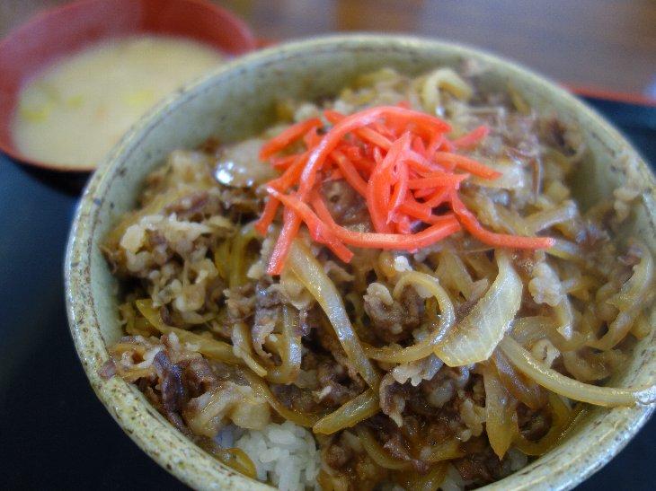 牛丼 ¥600