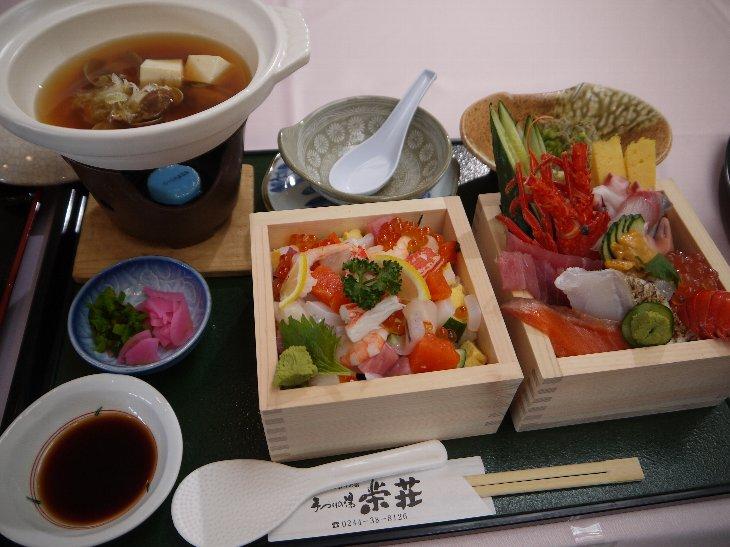 [手づくりの湯 栄荘]MASU2復興丼(2,980円)