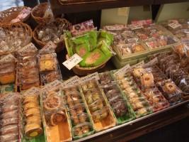 たくさんの焼き菓子たち