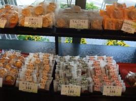 いろんな種類の和菓子