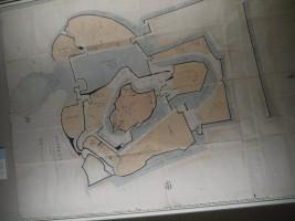 江戸時代後期の中村城絵図
