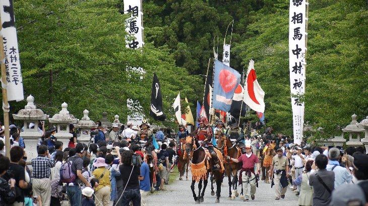 相馬中村神社、総大将御出陣