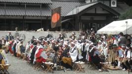 相馬中村神社、総大将出陣の宴