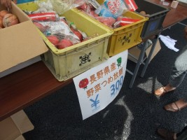長野県産の野菜詰め放題