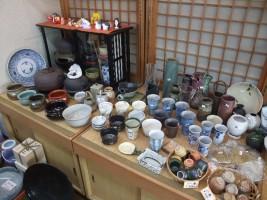 陶磁器などもたくさん