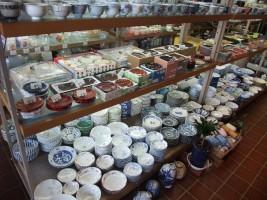 たくさんの食器類
