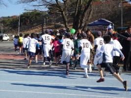 小学5・6年生男子も3km