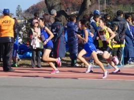 中学生女子は3km