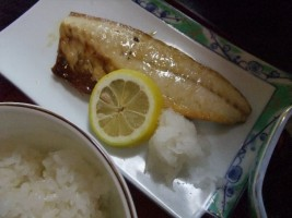 塩鯖焼魚定食