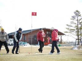 相馬光陽でのパークゴルフ大会