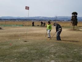松川浦パークゴルフ場の様子