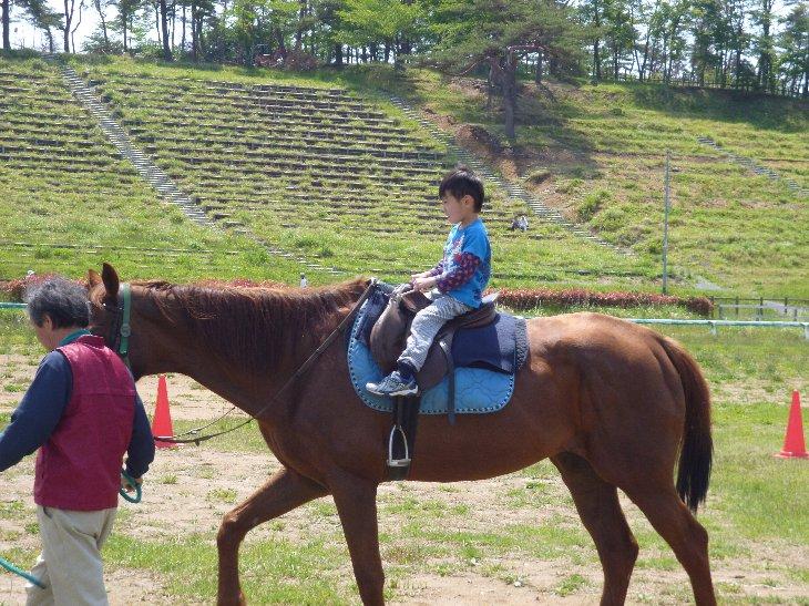 乗馬体験②