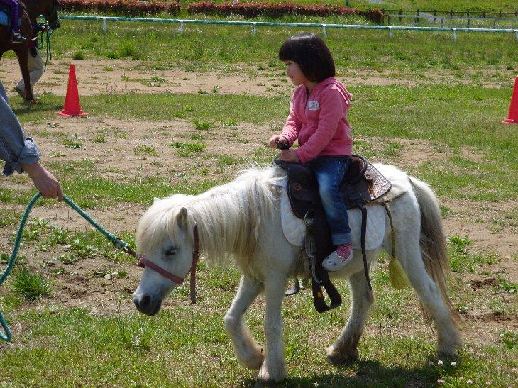 乗馬体験①