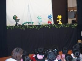 劇団銅鑼さんたちによる人形劇