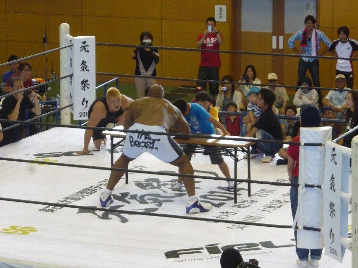 腕相撲対決1