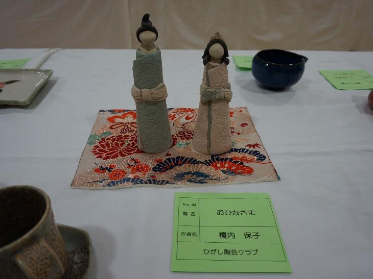 第12回ひがし陶芸クラブ作品展