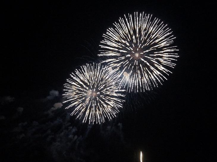 素晴らしい花火