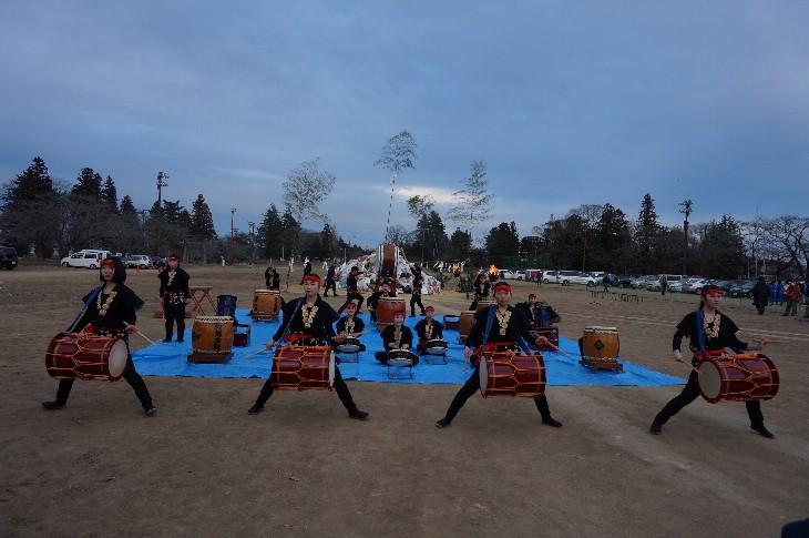 相馬高等学校 相馬太鼓部演奏