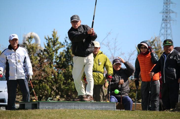 相馬光陽パークゴルフ場でプレー