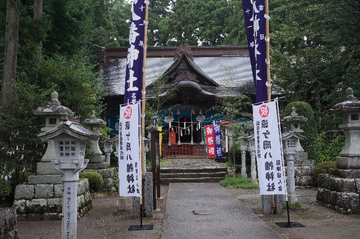 涼ヶ岡神社例大祭