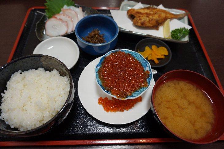 たこ八のキラキラ定食 1,620円