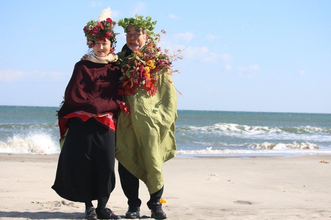 海と山の結婚式 草花をまとって自然を祝福しよう