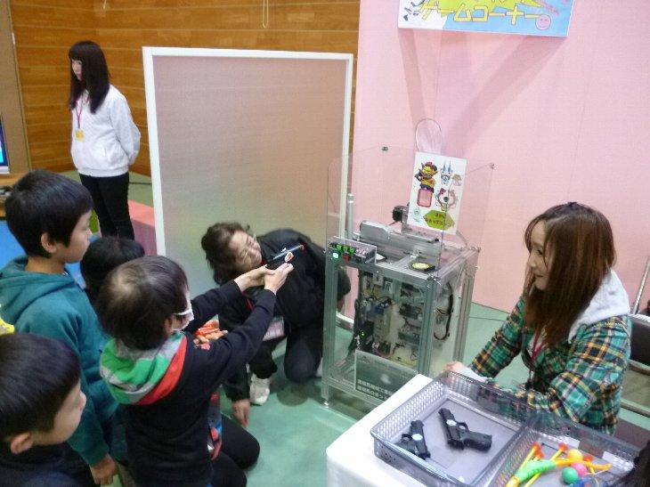 産業ロボットdeシューティングゲーム