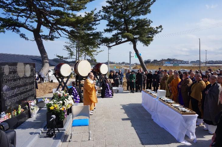 相馬市東日本大震災慰霊復興祈願