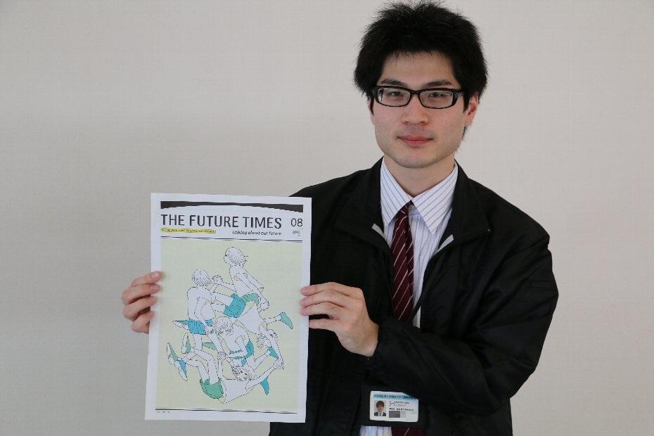 南相馬市民文化会館ゆめはっとで『THE FUTURE TIMES』
