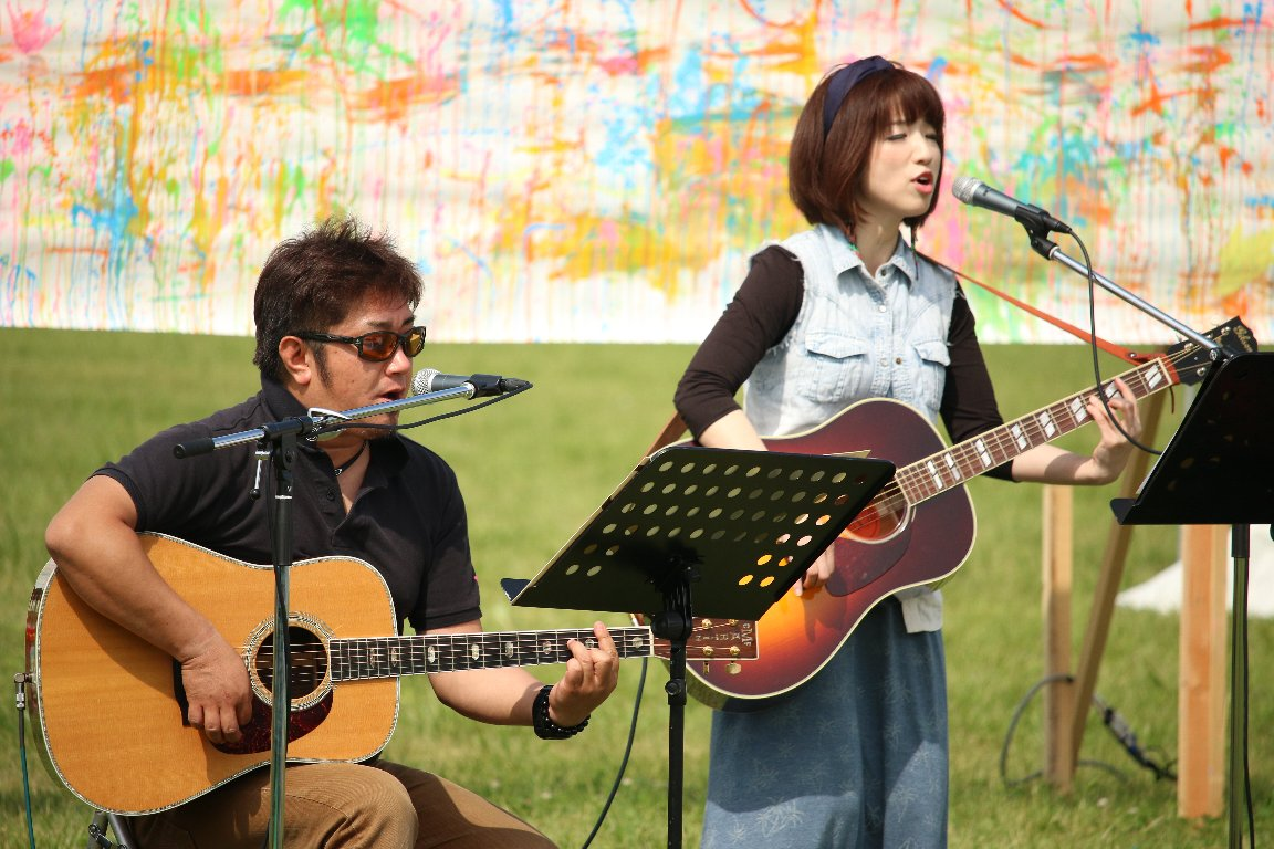 """のまおい夢気球、ARTS for HOPE""""のまおい夢ライブ"""""""