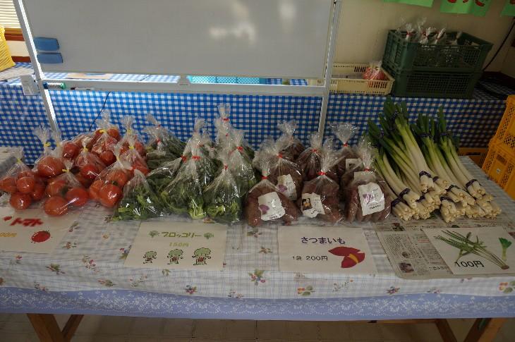 朝採り新鮮野菜