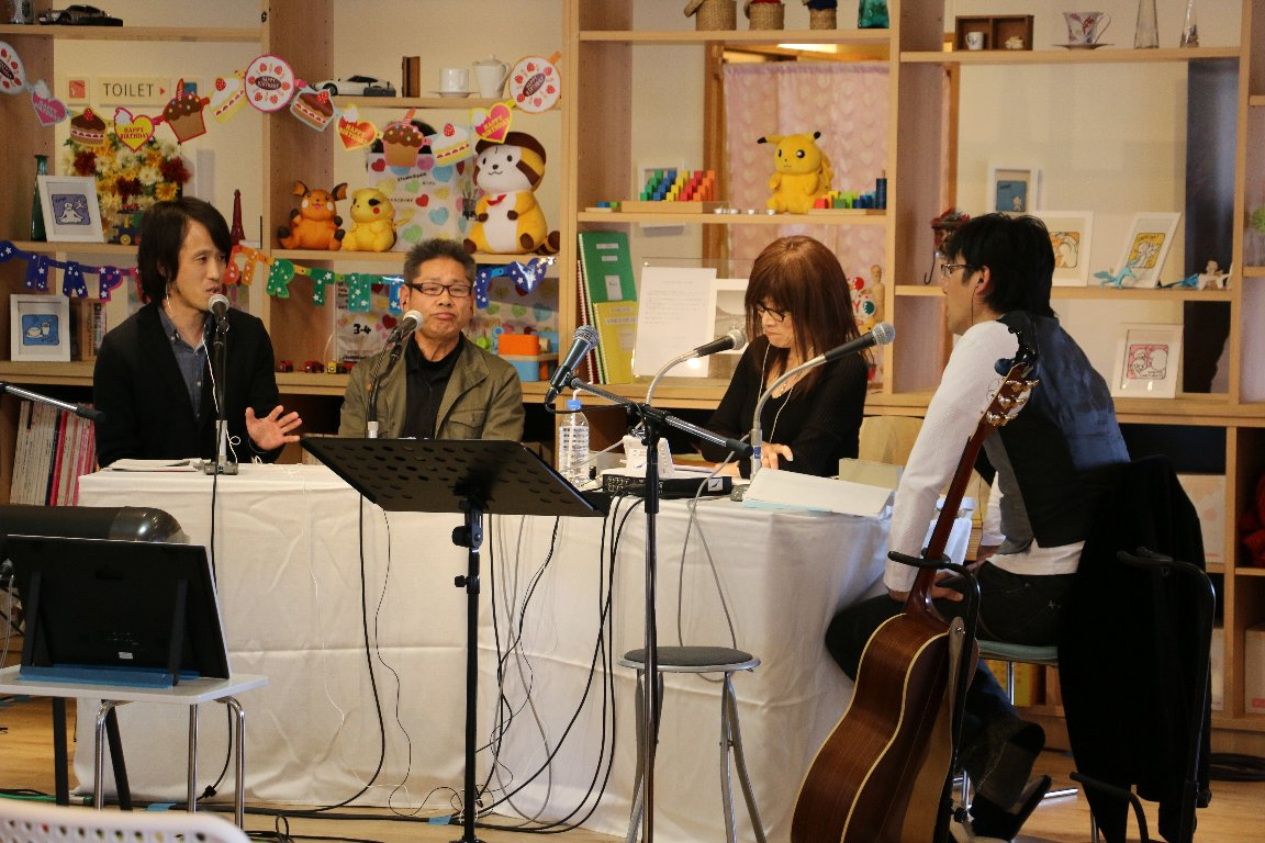 MUSIC BIRD震災特別放送「KIZUNA Station」公開生放送