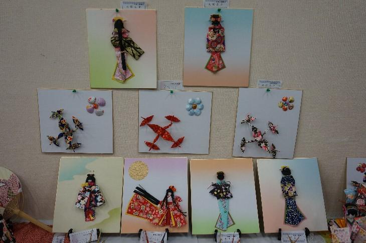 第6回 和紙人形教室作品展