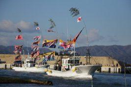 2018.1.2【浪江町】請戸漁港、7年ぶり出初式