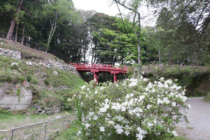 【相馬市】馬陵公園 赤橋