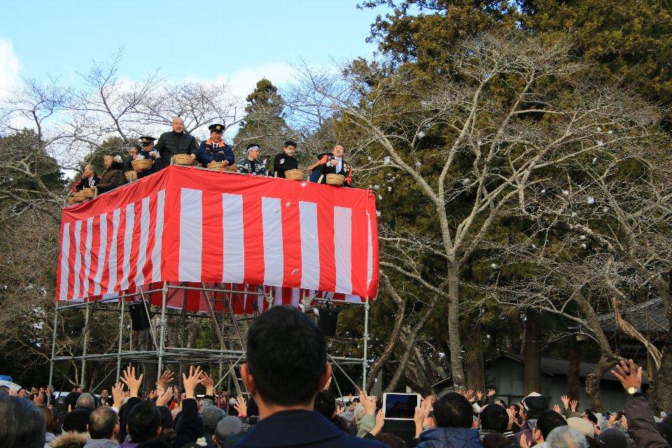 令和2年相馬妙見小高神社はしご乗り奉納