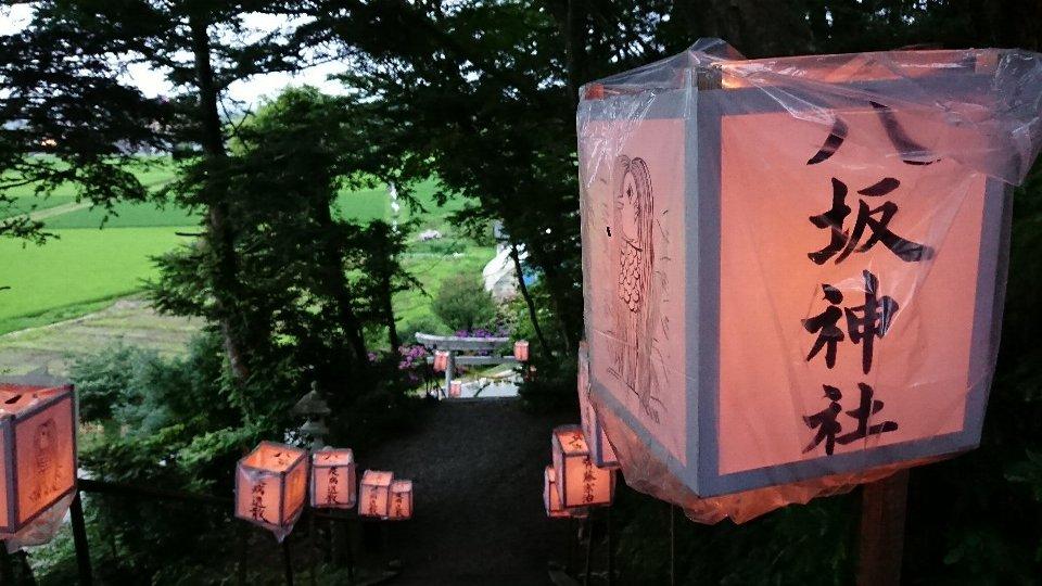 小泉八坂神社お夜籠り22