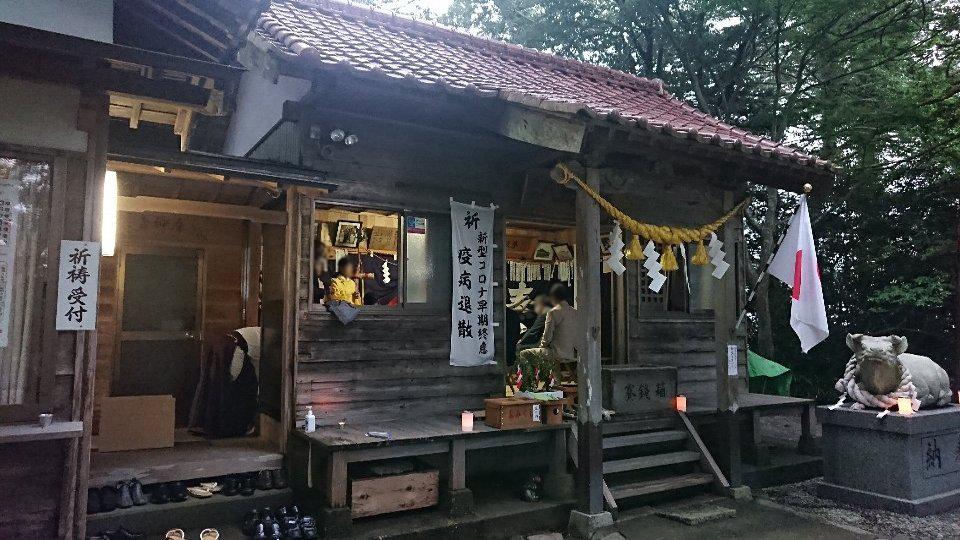 小泉八坂神社お夜籠り7
