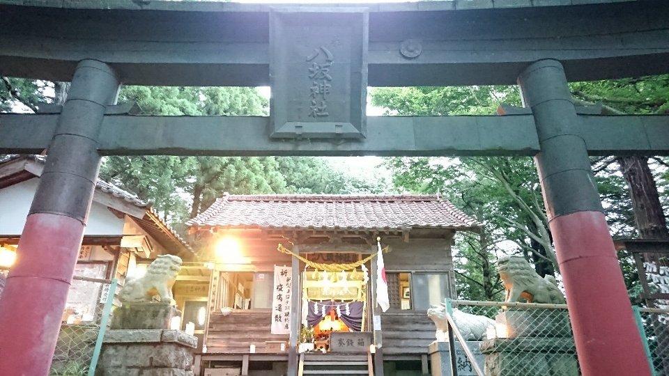 小泉八坂神社お夜籠り3