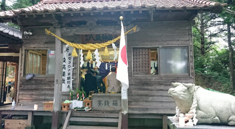 小泉八坂神社お夜籠り6