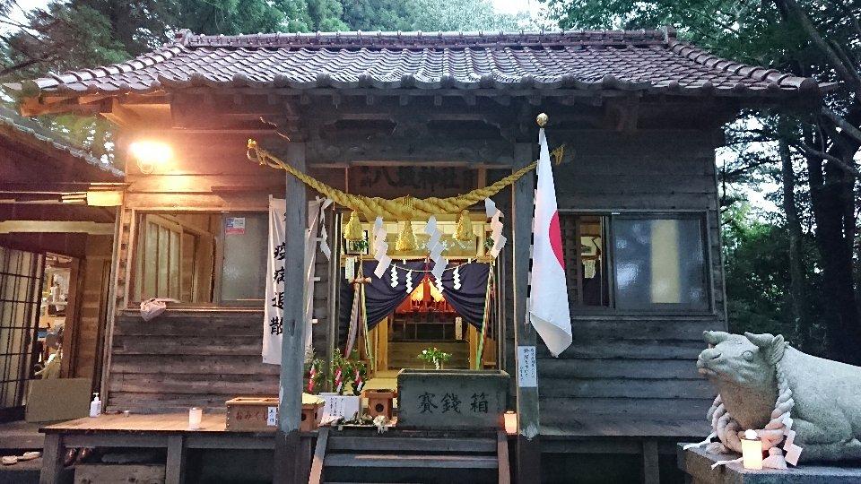 小泉八坂神社お夜籠り4