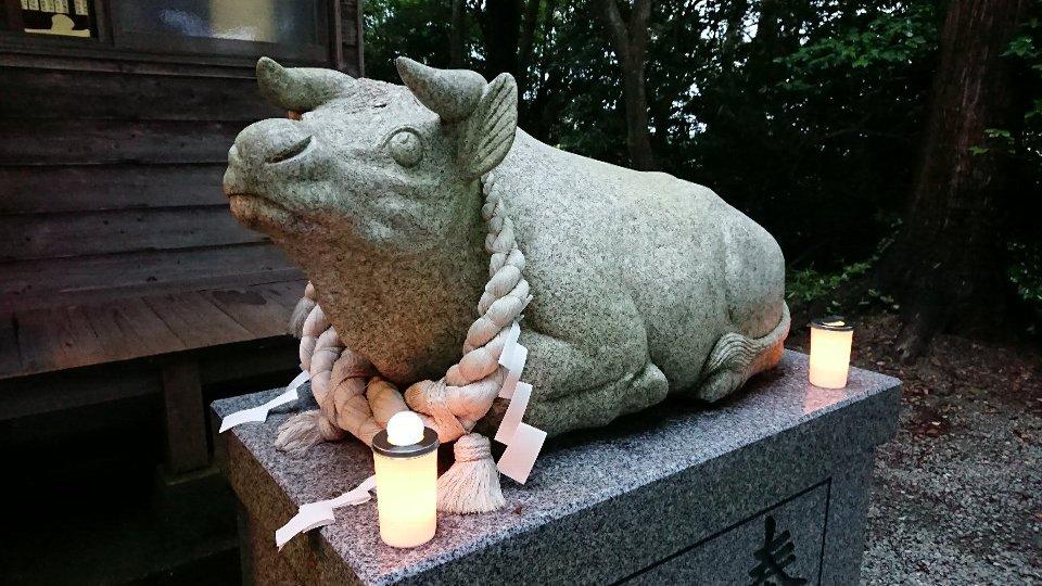 小泉八坂神社お夜籠り12