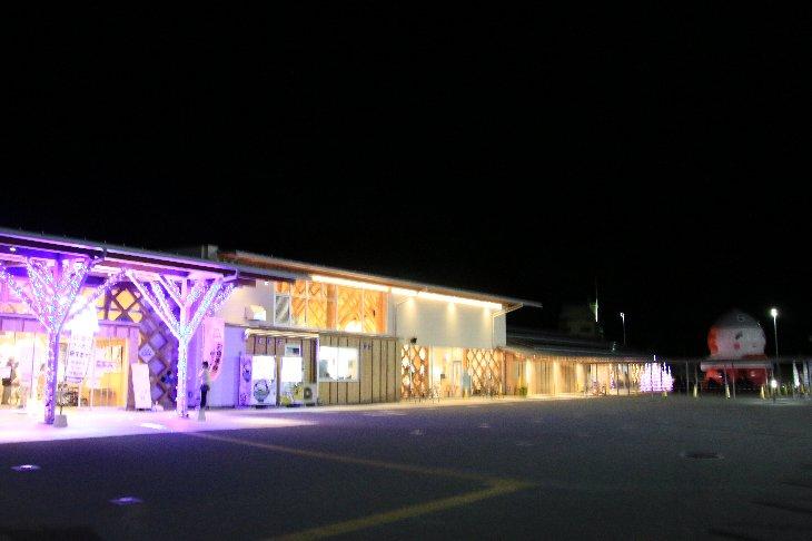 道の駅なみえイルミネーション点灯式