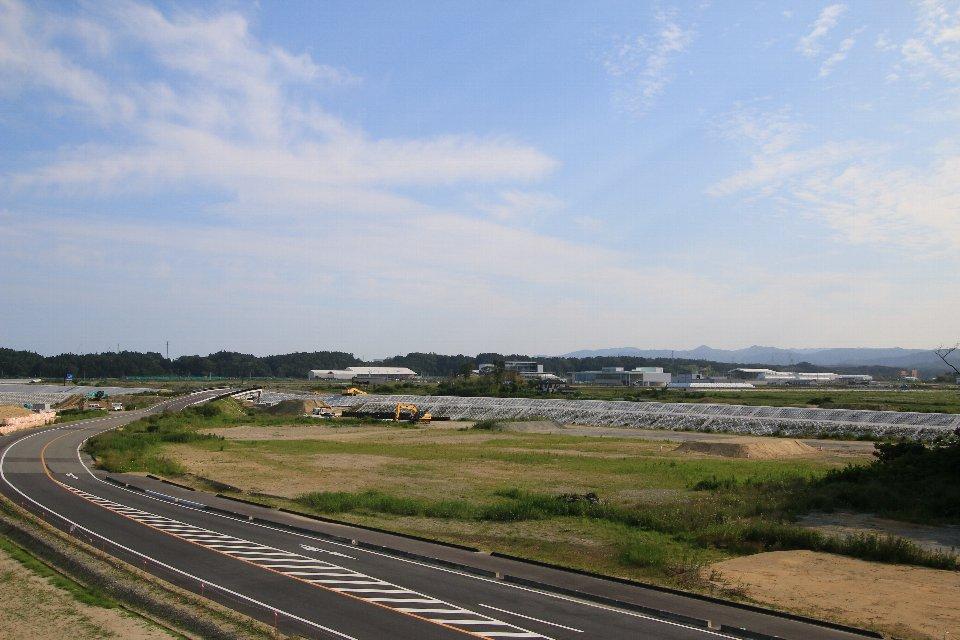 見晴らし台 - 双葉町・浪江町9